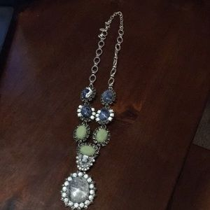 """""""As is"""" Joan Rivers Gemstone pendant necklace"""